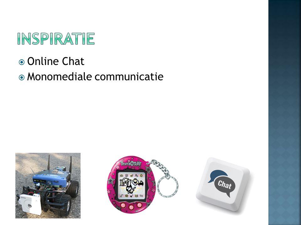  Monomediale communicatie