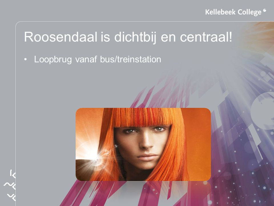 Roosendaal is dichtbij en centraal! Loopbrug vanaf bus/treinstation
