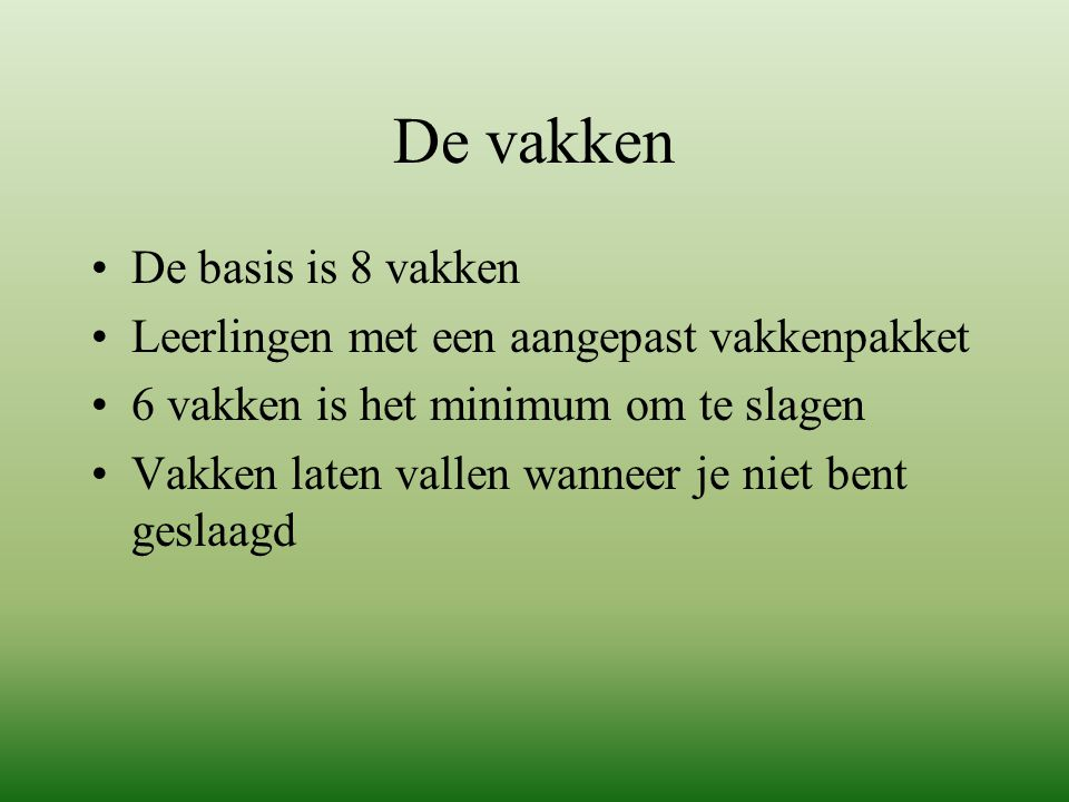 Eindexamen VMBO-TL 2014-2015 -PTA (programma van Toetsing en Afsluiting) -Examenboekje -Examenblad.nl -Examennormering -Slaag-zakregeling