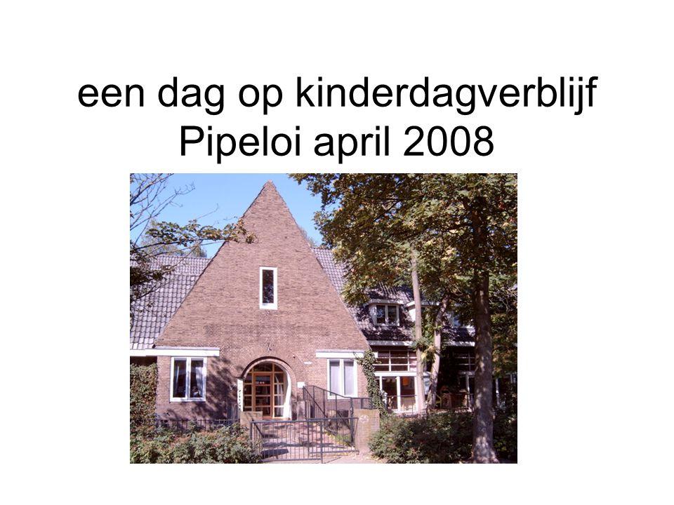 een dag op kinderdagverblijf Pipeloi april 2008