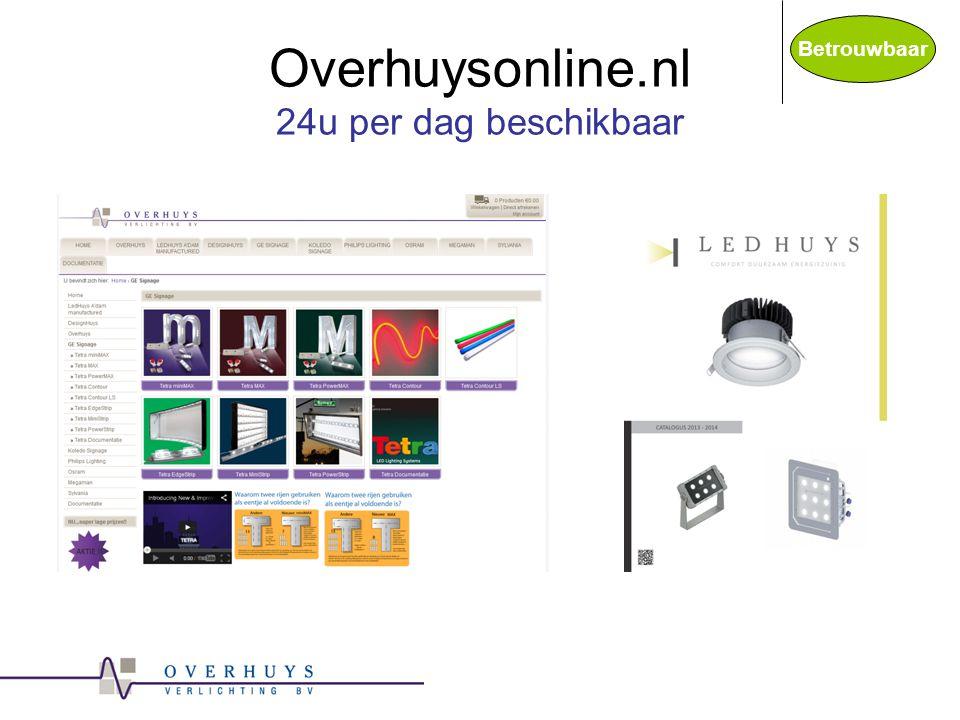 Overhuysonline.nl 24u per dag beschikbaar Betrouwbaar