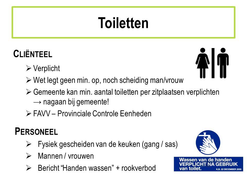 C LIËNTEEL  Verplicht  Wet legt geen min.op, noch scheiding man/vrouw  Gemeente kan min.