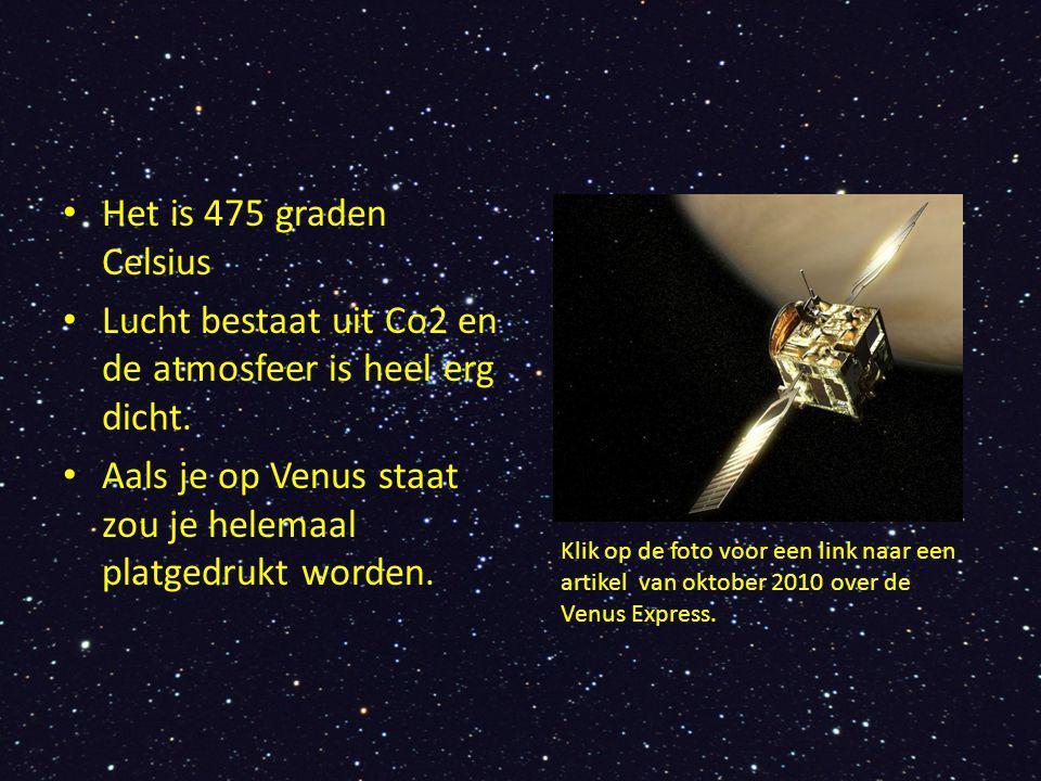Hoelang duurt een dag en een jaar Venus draait in 243 dagen om zijn as (een dag).