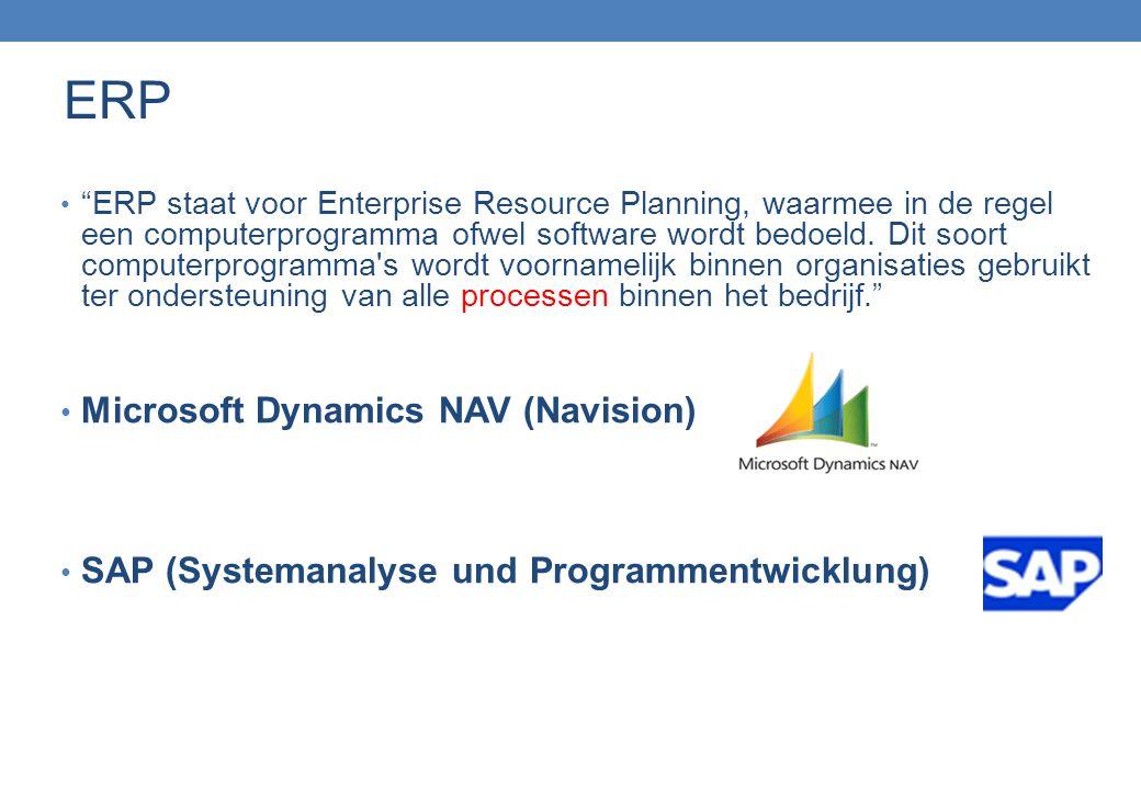 """""""ERP staat voor Enterprise Resource Planning, waarmee in de regel een computerprogramma ofwel software wordt bedoeld. Dit soort computerprogramma's wo"""
