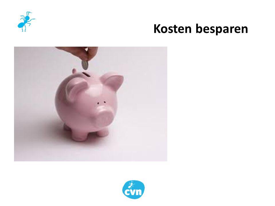 Kosten besparen