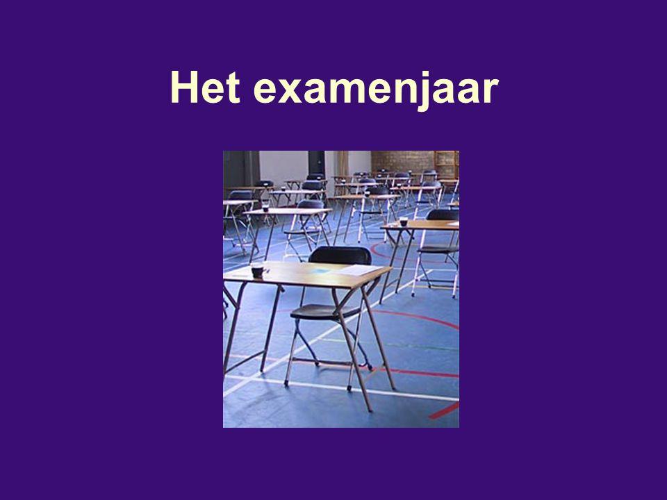 Het examenjaar