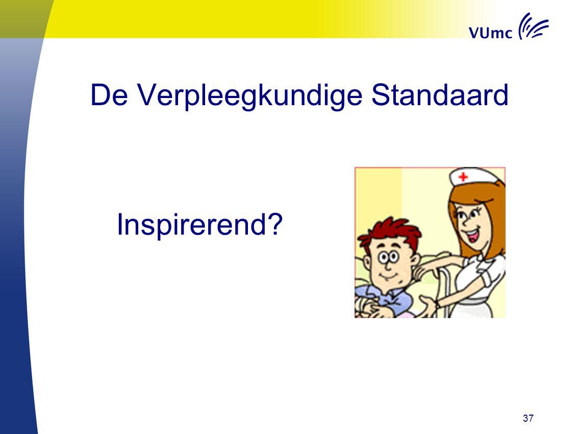 37 De Verpleegkundige Standaard Inspirerend?