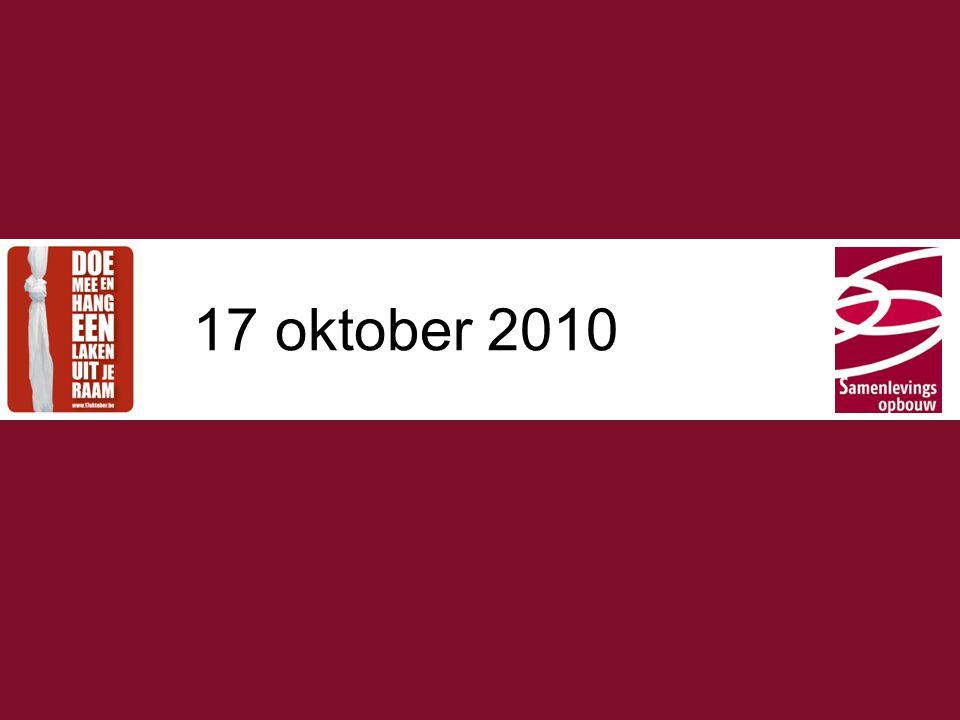 Typ hier de titel 2 In jaarplan 2010 We nemen deel aan acties en initiatieven die op provinciaal niveau worden opgezet rond het Europese jaar van de armoedebestrijding.