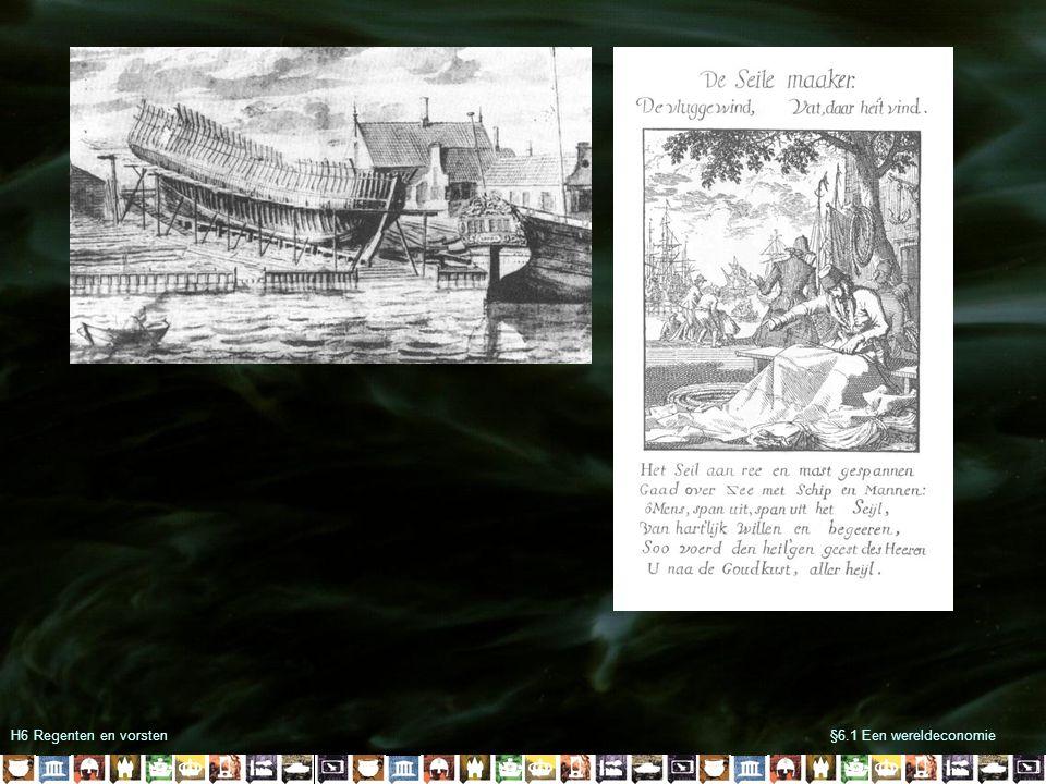 H6 Regenten en vorsten§6.1 Een wereldeconomie 1516Karel V wordt koning van Spanje 1531Instelling Collaterale Raden 1550Instelling Bloedplakkaten 1555Filips II volgt Karel V op 1566Lage edelen bieden het Smeekschrift aan 1566Beeldenstorm 1572Geuzen veroveren Den Briel 1576Pacificatie van Gent 1579Unie van Utrecht 1581Plakkaat van Verlatinghe 1584Moord op Willem van Oranje 1585Val van Antwerpen 1588De Onoverwinnelijke Armada vergaan