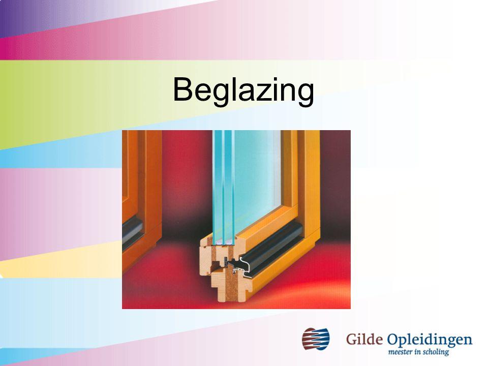 inhoudsopgave Binnen- en buitenbeglazing Eisen aan glaslatmontage Eisen aan plaatsing stel- en steunblokjes t.b.v.