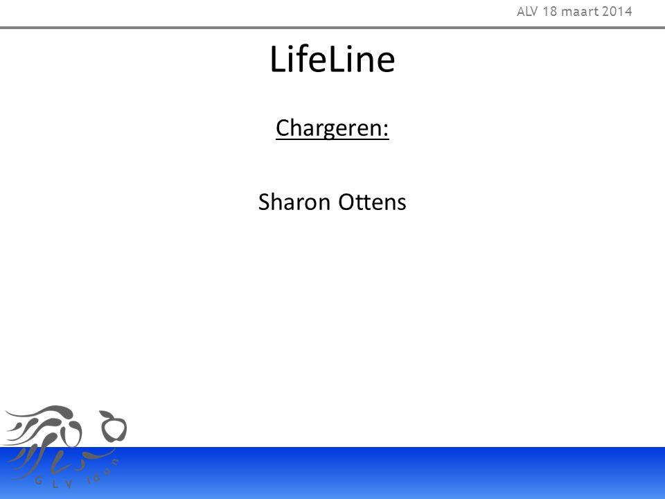 LifeLine Chargeren: Sharon Ottens ALV 18 maart 2014