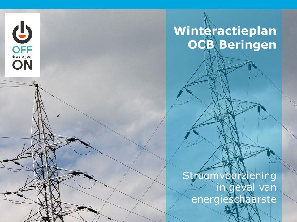 Stroomvoorziening in geval van energieschaarste Winteractieplan OCB Beringen