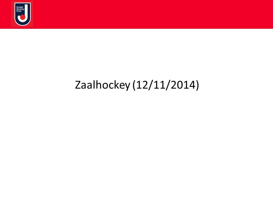 Zaalhockey (12/11/2014)