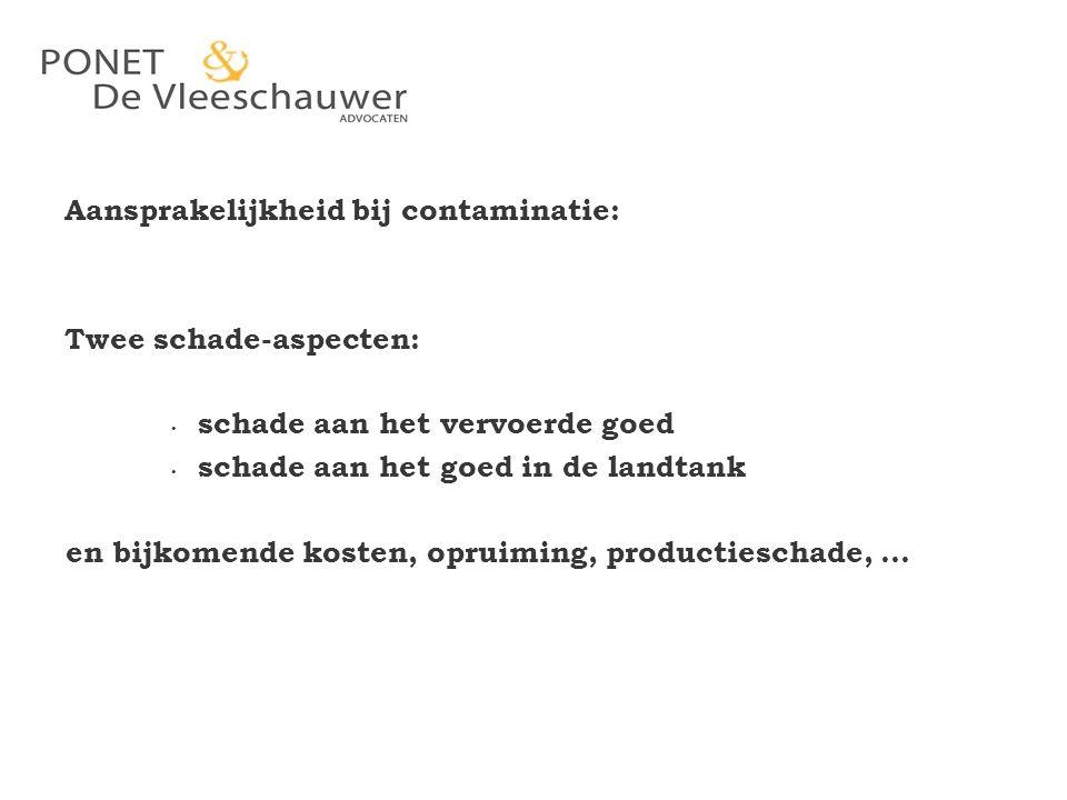 Hoger beroep: hof 's Hertogenbosch (26.10.1992) – CMR niet van toepassing op deze schadeclaim – onrechtmatige daad – niet van belang of Belgisch dan wel Nederlands recht van toepassing is Cassatie: Hoge raad 15.4.1994 Adv.-Gen.