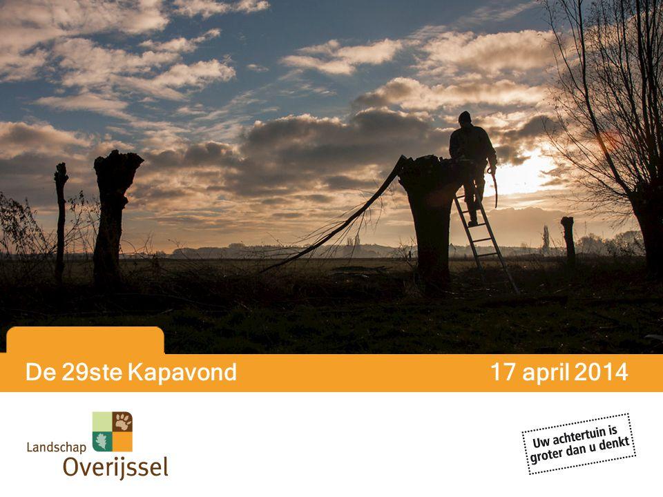De 29ste Kapavond 17 april 2014