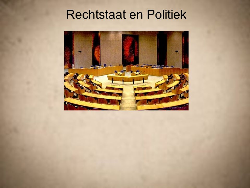 Hoofdstuk 1  democratie en rechtstaat  De rechtstaat  Trias Politica  Grondrechten