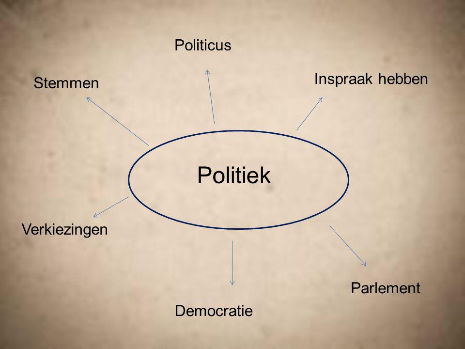 Wat is politiek.Het maken van keuzes over het besturen van een samenleving.