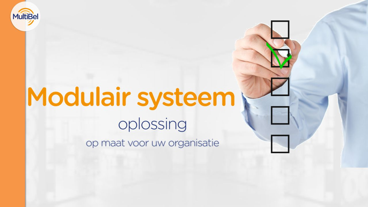 Modulair systeem