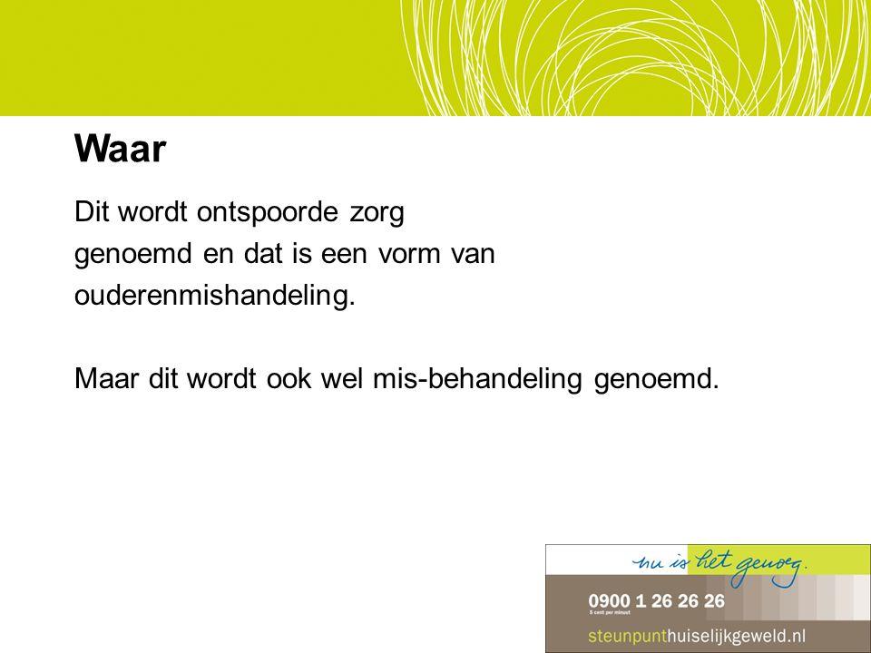 3,5 miljoen Nederlanders verlenen mantelzorg 1 op de 10 mantelzorgers maakt zich schuldig aan fysiek geweld en 1 op 3 aan verbaal geweld 220.000 mantelzorgers raken overbelast Mantelzorgers: