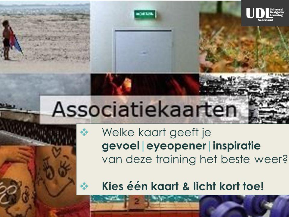 AFRONDING & EVALUATIE Saxion AMM, handicap + studie, UDL Nederland