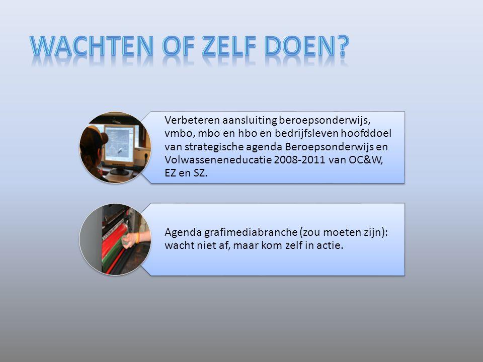 Verbeteren aansluiting beroepsonderwijs, vmbo, mbo en hbo en bedrijfsleven hoofddoel van strategische agenda Beroepsonderwijs en Volwasseneneducatie 2