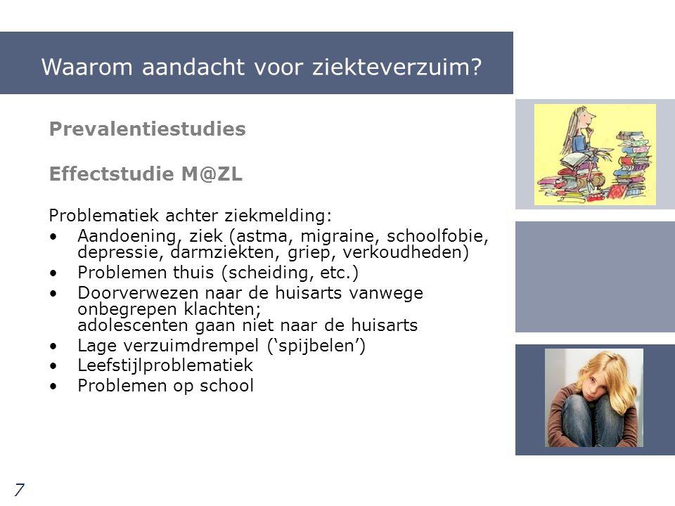 Ontwikkeling van de NSPOH leergang jeugdarts sleutelrol bij ziekteverzuim op school Jaarcongres JGZ 13 december 2012 18 Het consult