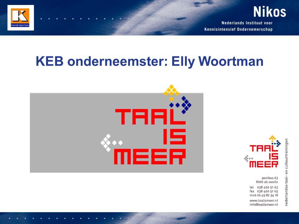 KEB onderneemster: Elly Woortman