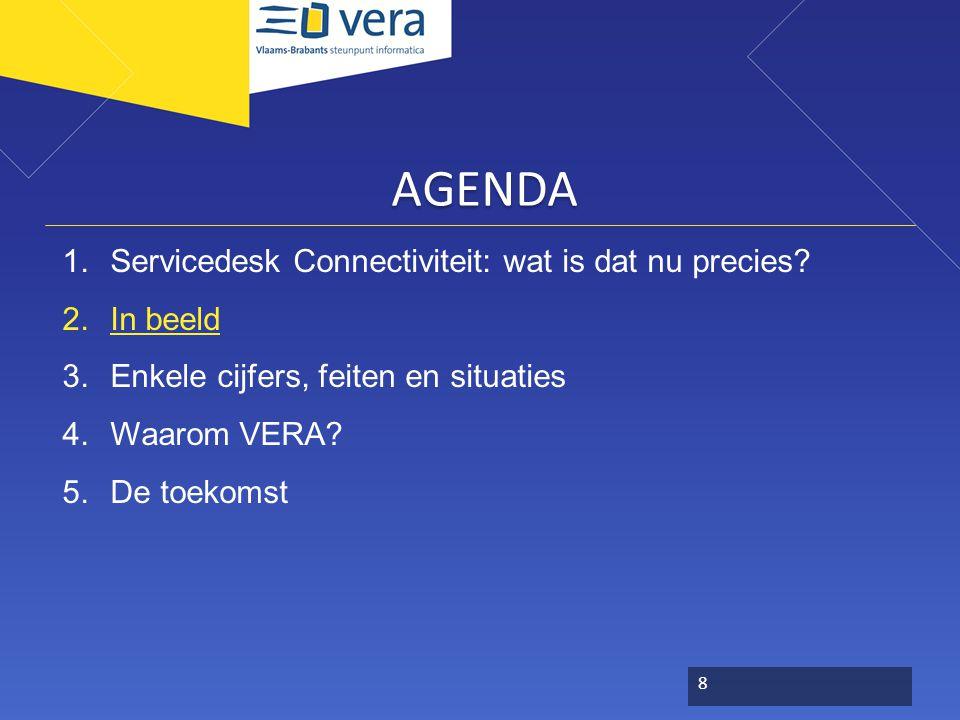 AGENDA 1.Servicedesk Connectiviteit: wat is dat nu precies.