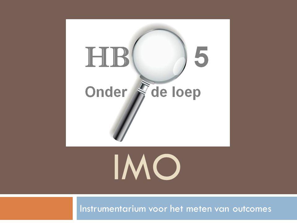 IMO Instrumentarium voor het meten van outcomes