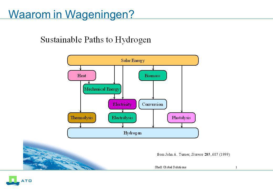 Waarom in Wageningen?