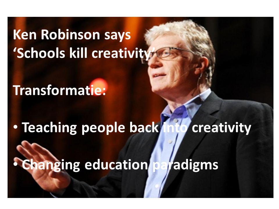 Succesvol word je als je met aandacht doet waar je goed in bent. Onderwijs faciliteert!