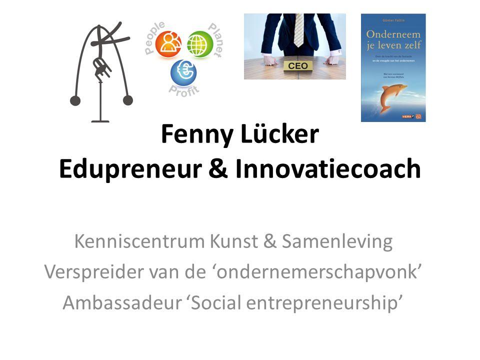 Ondernemend Leren ondernemende houding 1) Kwaliteit van Idee & Concept 2) Focus op uit- voering (training & coaching) 3) Met componenten!