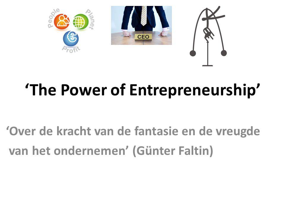 Entrepreneurial Mindset Verantwoordelijkheid - Onafhankelijk denken – Verbindingen maken Sabine Muller
