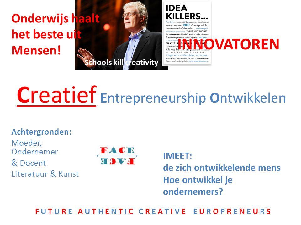 is te belangrijk om het aan economen over te laten (Günter Faltin) Innovatie