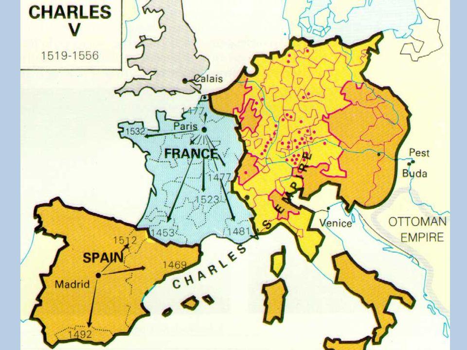 1548 De zeventien provinciën Autonome positie in het Habsburgse Rijk De Nederlanders horen bij mijn Habsburgse Rijk, maar mogen veel dingen zelf bepalen.
