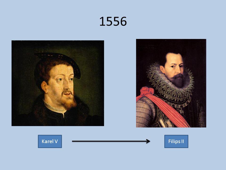 1556 Karel VFilips II