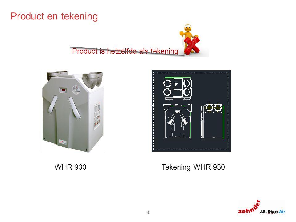 6.0 6.8 11.8 8.8 0 Product en tekening 4 WHR 930Tekening WHR 930 Product is hetzelfde als tekening