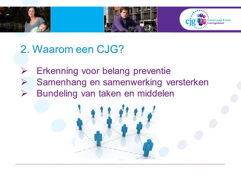 2.Waarom een CJG.