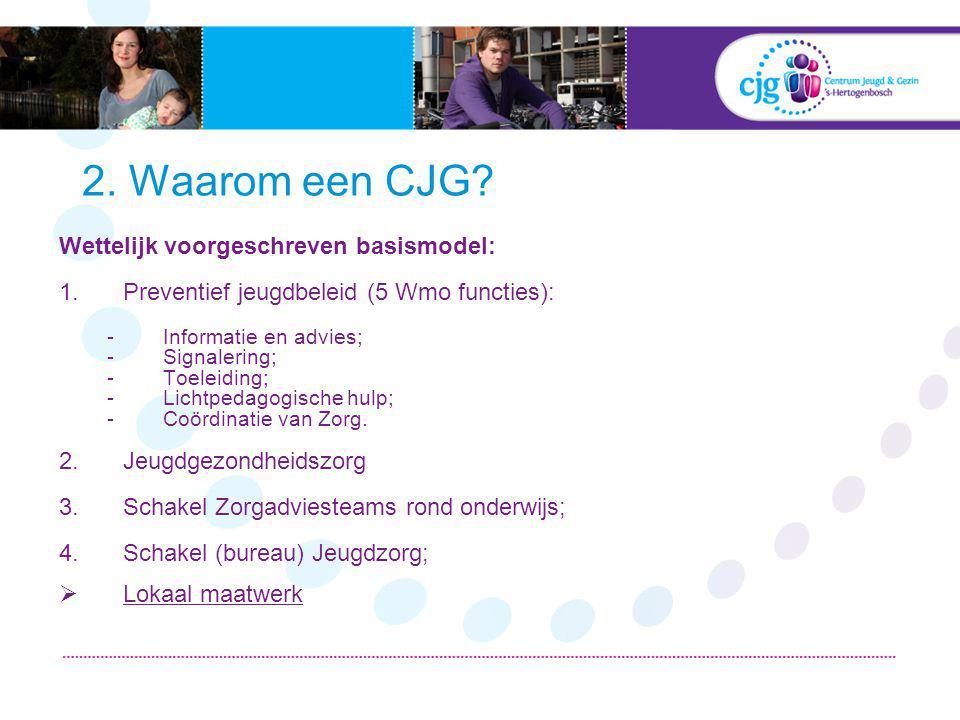 2. Waarom een CJG.