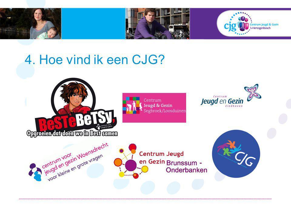 Google! Website (www.dcjg.nl)www.dcjg.nl Telefoon E-mail Erop af! CJG inlooppunt
