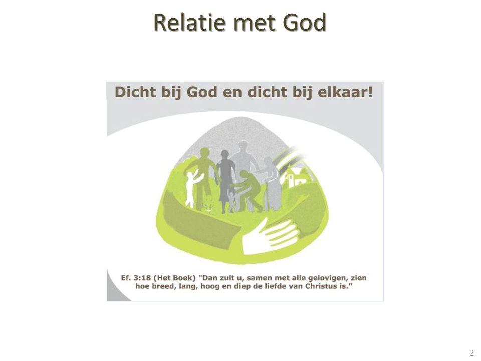 Relatie met God 2