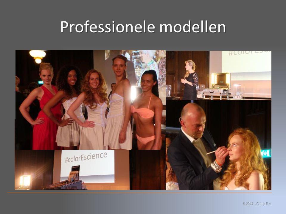 Professionele modellen © 2014 JC Imp B.V.