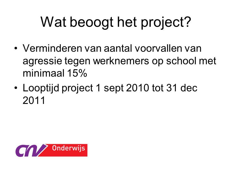Sociale Veiligheid in het MBO Branche instrumenten: RI&E en Incidentenmonitor http://www.sommbo.nl/?page=965 http://www.humatix.nl/Incidentenmonitordemo/incidentenm onitor_demo.htm https://www.humatix.nl/sos3/main/welcome.rails Verplichte incidentenregistratie m.i.v.