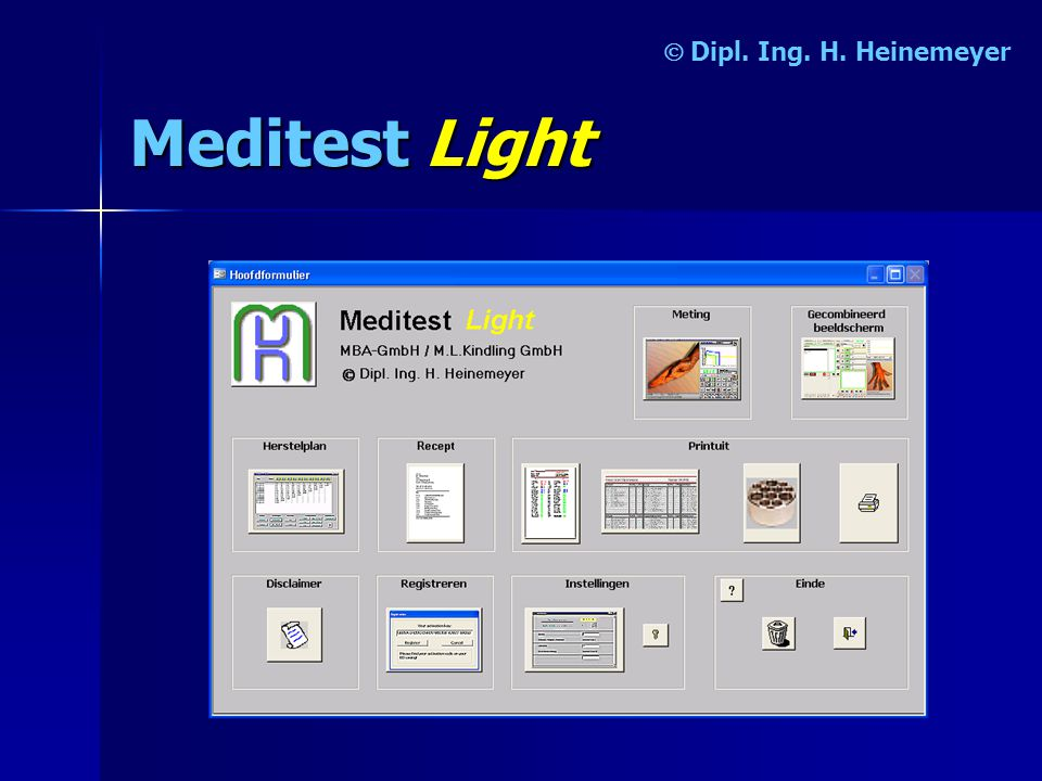 MeditestLight  Dipl. Ing. H. Heinemeyer
