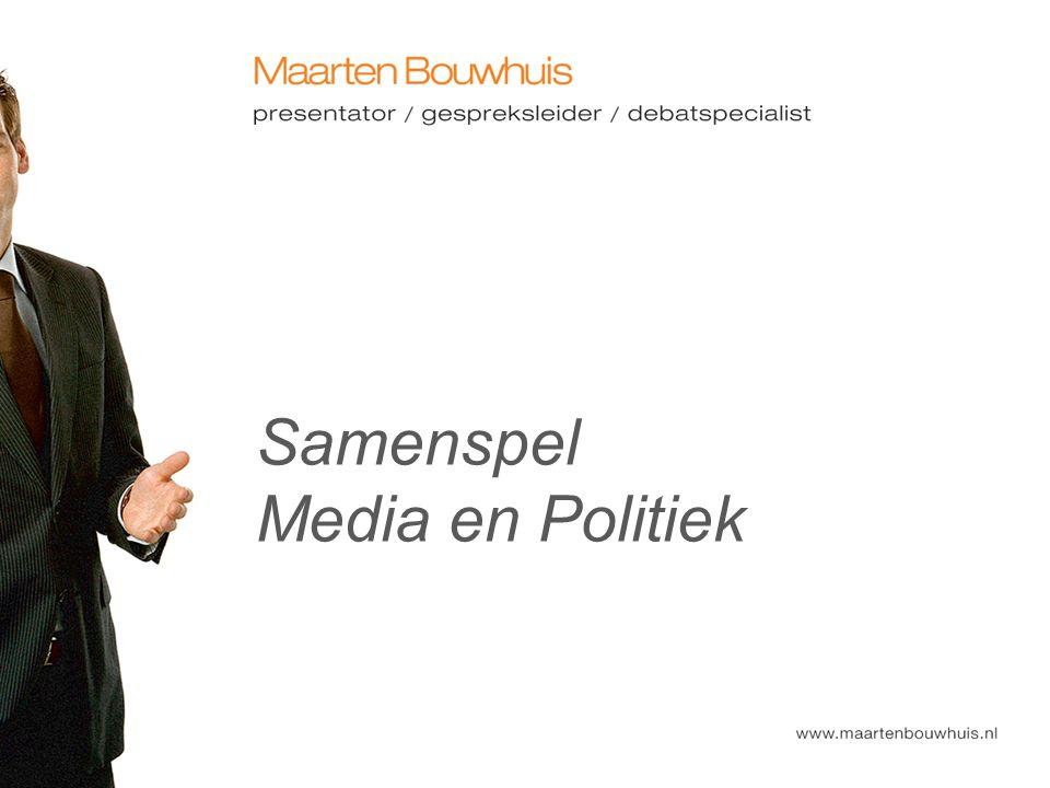 Samenspel Media en Politiek