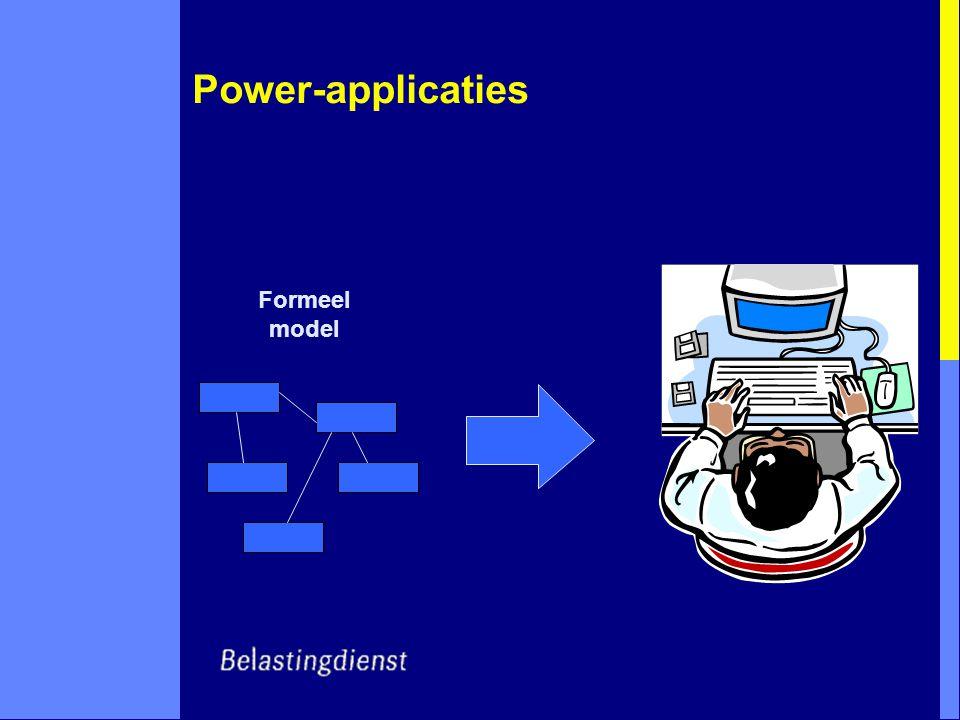 Power-applicaties Formeel model