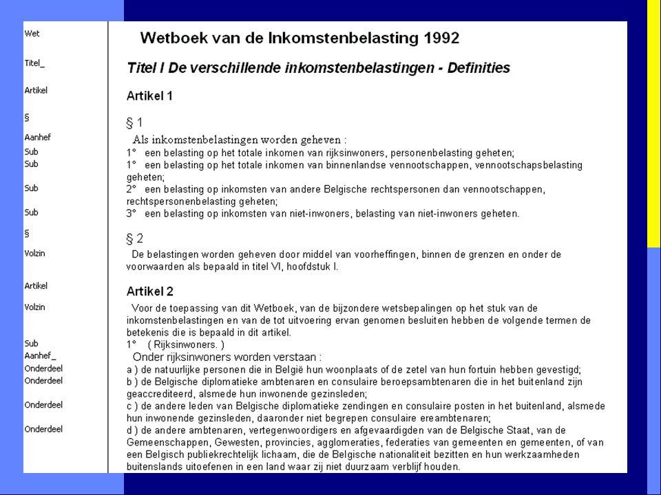 Structuuranalyse: 3. Tekst zonder opmaak