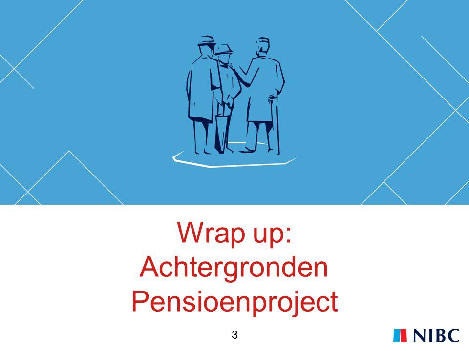 Wrap up: Achtergronden Pensioenproject 3
