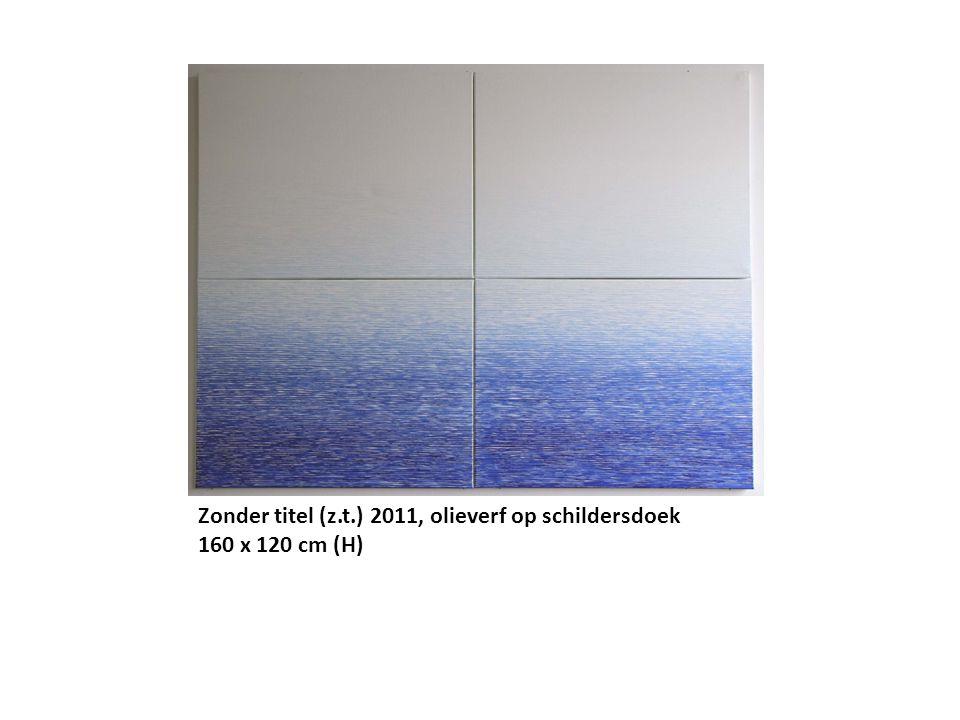 Allemaal verschillend, 2012, olieverf op schildersdoek, 115 (basis) x 90 cm (H)