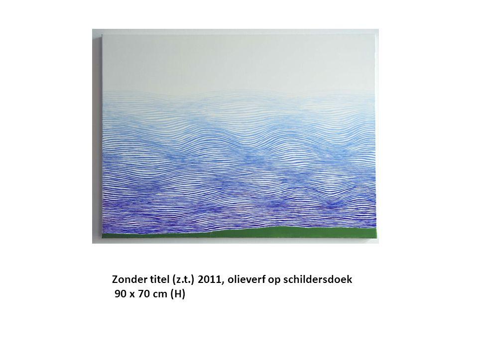 z.t. 2011, olieverf op schildersdoek, 100 x 80 cm (H)